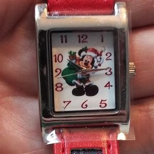 Mickey Mouse Xmas Watch - Disney Parks